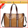 New ladies brown leather briefcase bag customized size