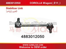 Stainless steel tie rod 4883012050 For TOYOTA COROLLA Wagon(_E11_)