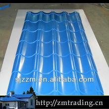 prepainted galvalume steel glaze roof tile