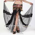 Asequible moda shinning atractivo de baile del vientre, Ropa de danza del vientre, La danza del vientre lentejuelas faldas ( QC1192-1 )