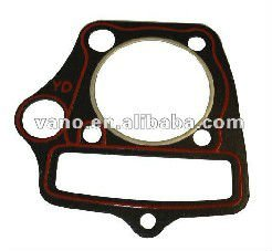 motorcycle metal cylinder head gasket kit for JH70
