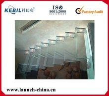 laminate flooring glass stairs