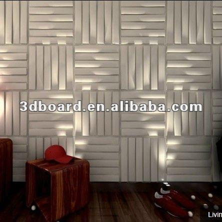 Natural materal 3d decoraci n de la pared paneles - Paneles laminados para paredes ...