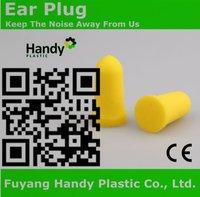 Self-adjusting foam expands hear plug