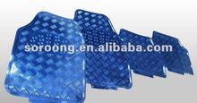 Aluminum car floor mat/Auto accessory