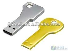 2.0 USB 1gb Colorful Promotional Key Shape USB Stick