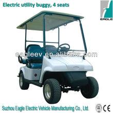 Elektrischen golfwagen mit jumper sitz, ce, eg2026ksf