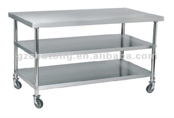 Werktafel Keuken Op Wielen : werktafel met onder planken/keuken werktafel met wielen-Andere service