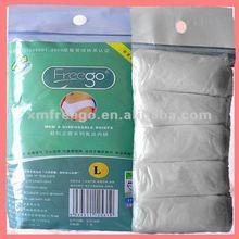 Xiamen Freego white nonwoven disposable underwear/briefs for men