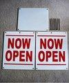 corflute signos para abrir y cerrar