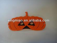 Pumpkin Shaped Eva Foam Mask for Halloween Day