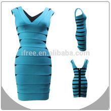Lovely & mature design sleeveless girl's party dress