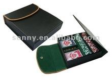 Black poker chip bag for sale