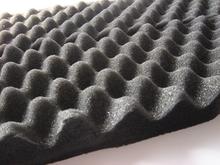 La onda de alta prueba de sonido de la espuma, adhesivo de aislamiento de sonido de la espuma, la absorción de ruido de la espuma