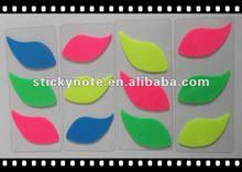 2012 Promotional Leaf Shaped PET Bookmark