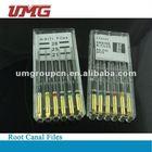 endodontic k files, root canal files, niti files dental instrument