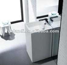 Bathroom cabinet and decorative wash basin Acrylic material sinks