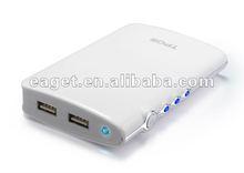 Popular 6600mAh high capacity power bank for motorola,mp3,psp,iphone