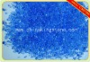 blue transparent glass chips for terrazzo and concrete