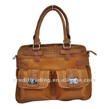 Latest Design Hot Selling Classical Lady's PU Handbag