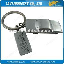 new design 3D car keychain metal
