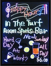Pub KTV Flashing Menu Sign Led Lighted Board for Holiday