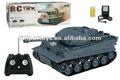 Panzer tanque do rc modelo 1:26 realista com sons e luzes