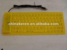 computer keyboard colored keys