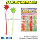 Sell sticky hammer toy,plastic toys for children 2012