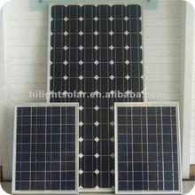 156mm Monocrystalline Solar Panel 130W~300W with TUV,CEC