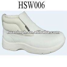 white all seasons indoor/outdoor ankle white kitchen work boots 2012