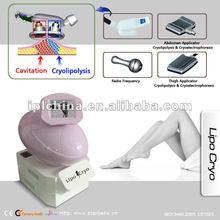With Cryo Derma Vacuum cavitation Electroporation RF 2012 Professional Cavi Lipo Machine