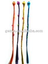 2012 fashion cheap Children Braided Hair Extensions in blue, orange, fuchsia,purple, pink,yellow