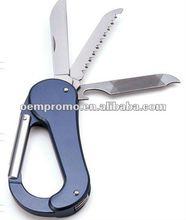 2012 Aluminum Carabiner wih Multi-Function Tool