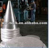 sheet metal spinning high precision quality aluminium metal cone