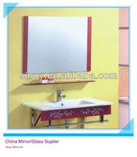 China Octagon Silver Mirror ,Bathroom Mirror, Modern Glass Dressers