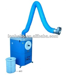 Mobile Fume Extraction for metal grinding