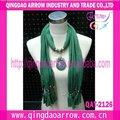 collar de la moda bufanda bufanda de la decoración de la joyería