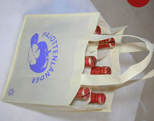 Eco-friendly Non-woven Wine Tote Bag