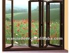 The new style aluminium bi folding interior door