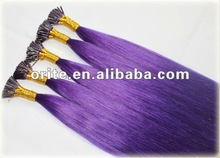 Able to Use Normal Hair Products to Deal With Factory Price Remy Stick Tip Hair Extensions