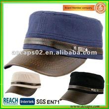 plain fashion accessories military style cap Shenzhen MC-1293