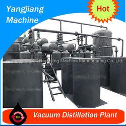 Waste Engine Oil Vaccum Distillation Plant YJ-TY-28