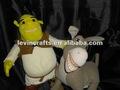 Hablar Shrek y burro de peluche de felpa Animal de juguete
