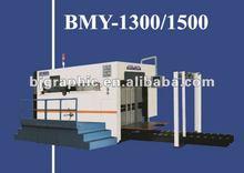 BMY-1300 Semi-automatic Platen Die Cutting Machine