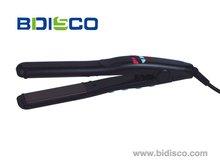 Hot tools !!! Jet black vibrating mirror titanium hair straightener