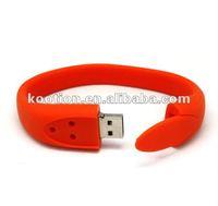 silicon usb flash disk,8gb bracelet usb Flash Memory drive,USB Bracelet red