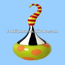 2012 Hot Sale Ceramic Giftware Jester Costume Lidded Box