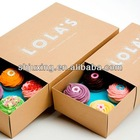 1 to 24 custom cupcake boxes wholesale