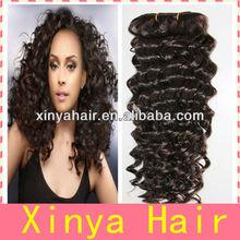 Pretty women choice top grade fashion Curl brazil human hair